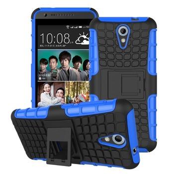Solidne Etui dla HTC Desire 620 Hard Case z funkcją stojaka