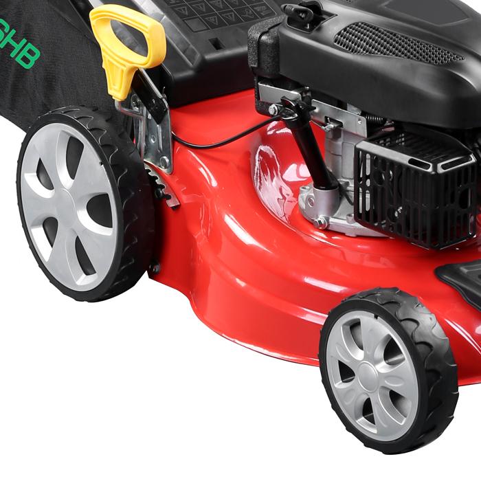 Gasoline four-stroke 5.5 horsepower 18-inch push mower Garden Grass lawn machine(China (Mainland))
