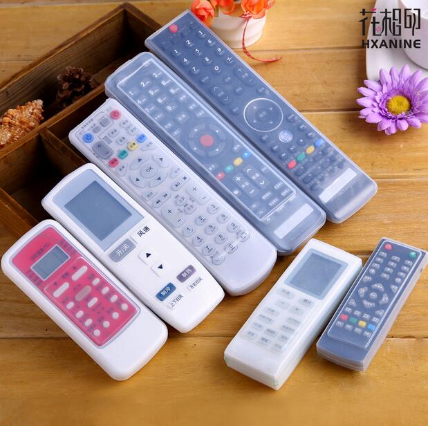 Silicone TV Remote Control Case Cover Video AC Air Condition Dust Protect Storage Bag Anti-dust Waterproof(China (Mainland))