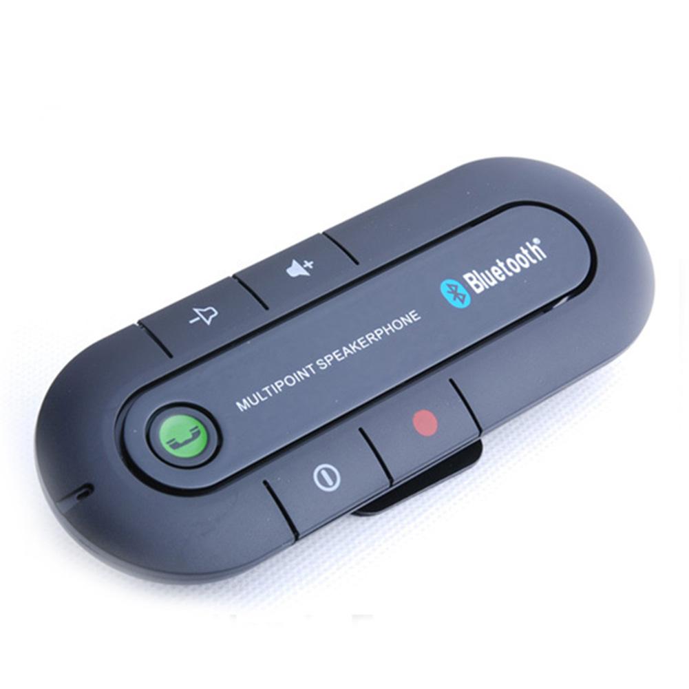 Hot Sale Universal Wireless Handsfree Car Bluetooth Kit Speaker Speakerphone Clip for iPhone(China (Mainland))