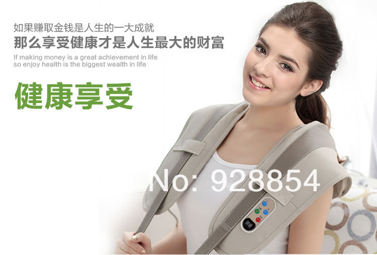 neck and shoulder massager machine, multi-mode heating neck massager with CE&RoHS approval(China (Mainland))