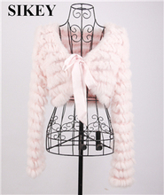 real rabbit fur vest shawl wraps  fur  coat woman colthing  fur jacket(China (Mainland))