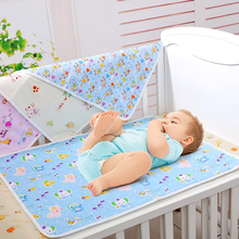 New Cotton Baby Infant Travel Home Waterproof Urine Mat Cover Burp Changing Pad Free Shipping Drop