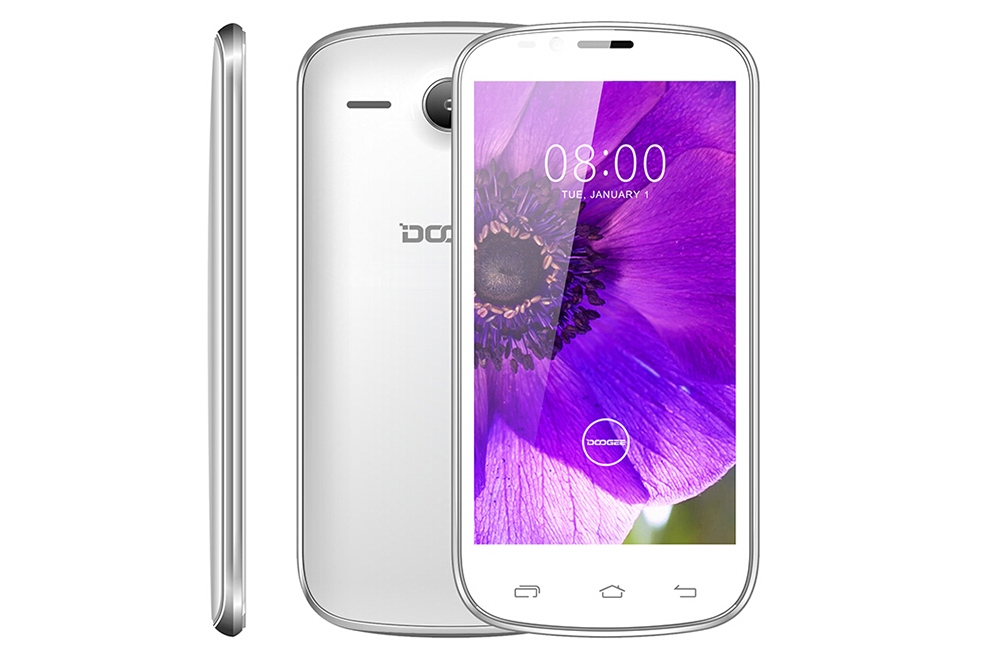 Sales promotion Mobile phone Doogee DG210 4.5''IPS MTK6572 Dual core 1.3GHz 512MB+4GB Smartphone Android 4.2 WCDMA 5.0MP 1600mAH(China (Mainland))