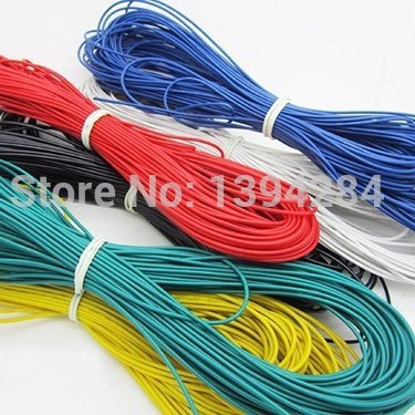 UL 3135 18AWG silicone wire 18# silica gel wire Conductor construction 150/0.08 18AWG high temperature wire 20 meters<br><br>Aliexpress