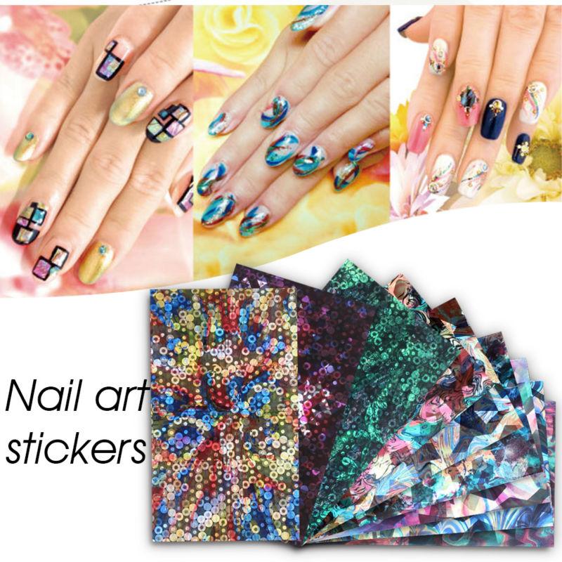 Perfect Summer Transfer Nail Foil DIY Nails Decoration Beauty Tools ...
