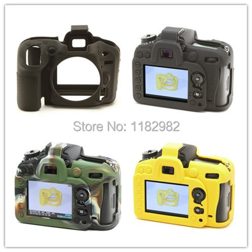 Nice Soft Silicone Rubber Camera Protective Body Cover Case Skin For Nikon D7200 D7100 Camera Bag<br><br>Aliexpress