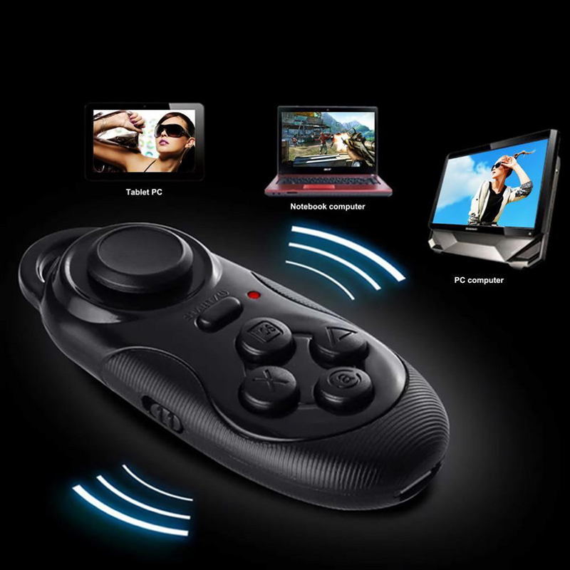 Mini Wireless Multifunction Bluetooth Remote Control Gamepad Camera Shutter Mouse Controller for IOS Android 3D Glasses