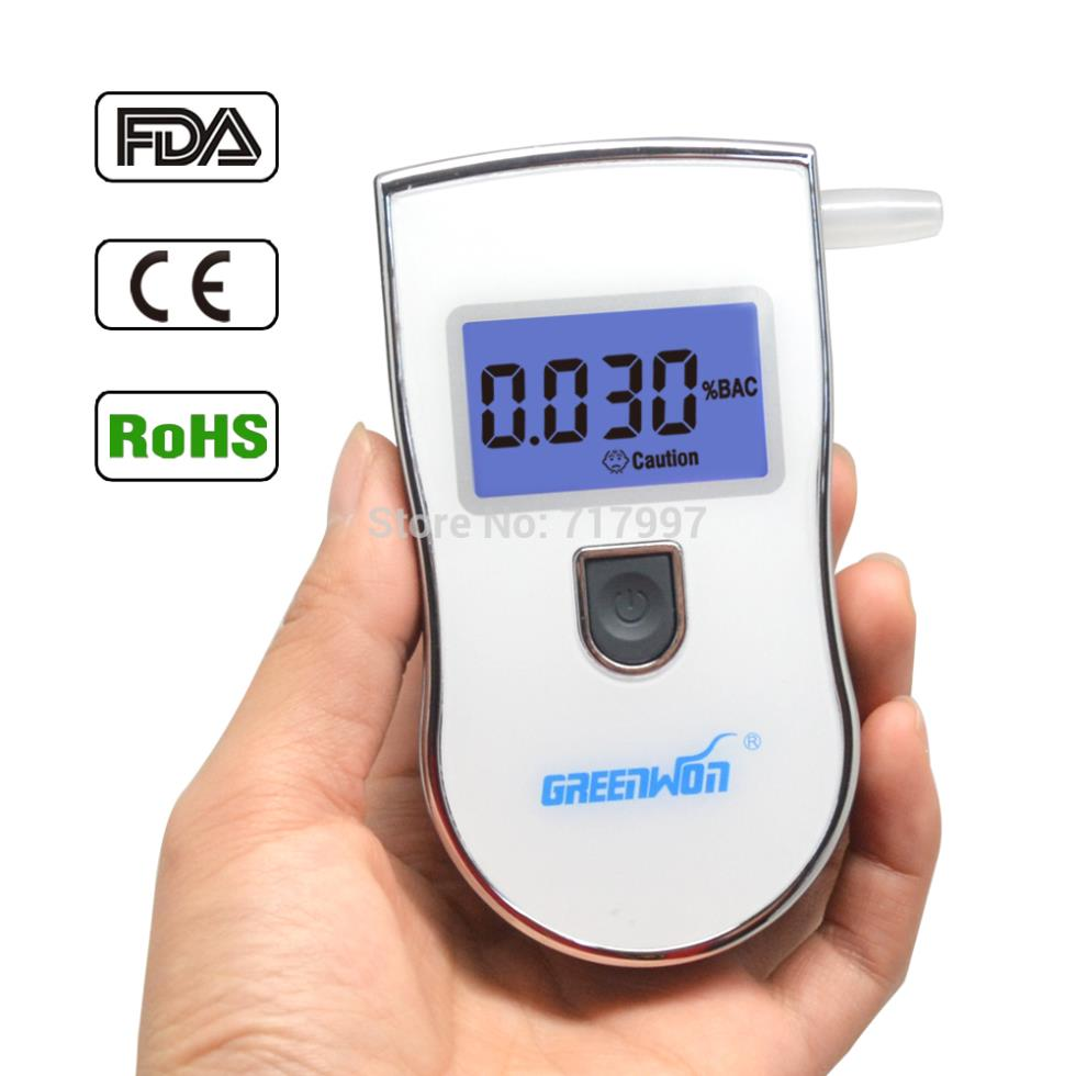 models patent item digital alcohol tester breathalyzer with 5 mouthpieces for Russia Gadgets meter Car Detector Gadget(China (Mainland))