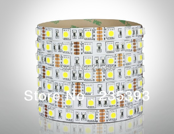 10M / LOT 5050 30 SMD LED Strip DC12V 48W Red/Yellow/Blue/Green/White/Warm White RGB Non-Waterproof<br><br>Aliexpress