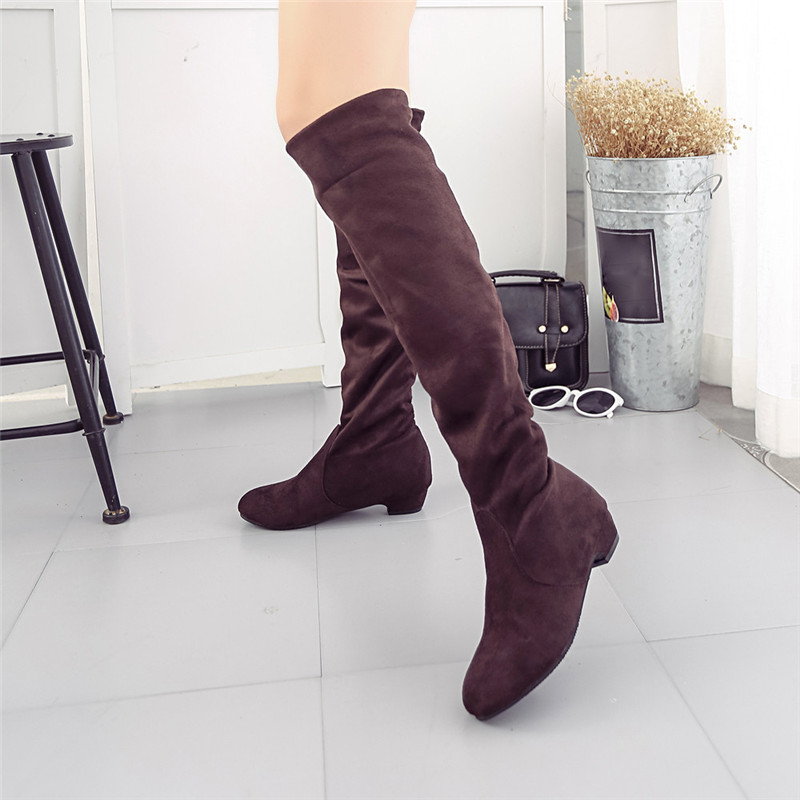 Popular Thigh High Boots Brown-Buy Cheap Thigh High Boots Brown ...
