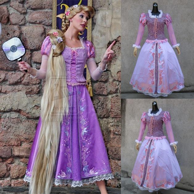 Tangled Dress Adult - Compra lotes baratos de Tangled Dress Adult ...
