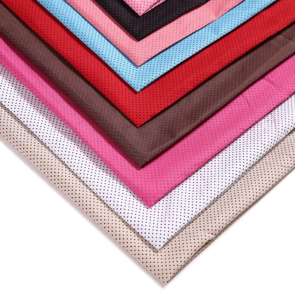 Dyeing small point of the textile fabric bags, cloth, polyester cloth manufacturers direct wholesale(China (Mainland))