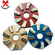 (3JKP) 3pieces/lot 3inch Metal grinding pads 80mm diamond polishing pads Metal dry concrete polishing pad polishing granite(China (Mainland))