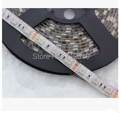 High power RGB LED strip 5050 12V flexible light 60 leds/m Blue,Green,Red,Yellow,RGB waterproof IP65  -  Shenzhen Sunshine Trade Co., Ltd. store