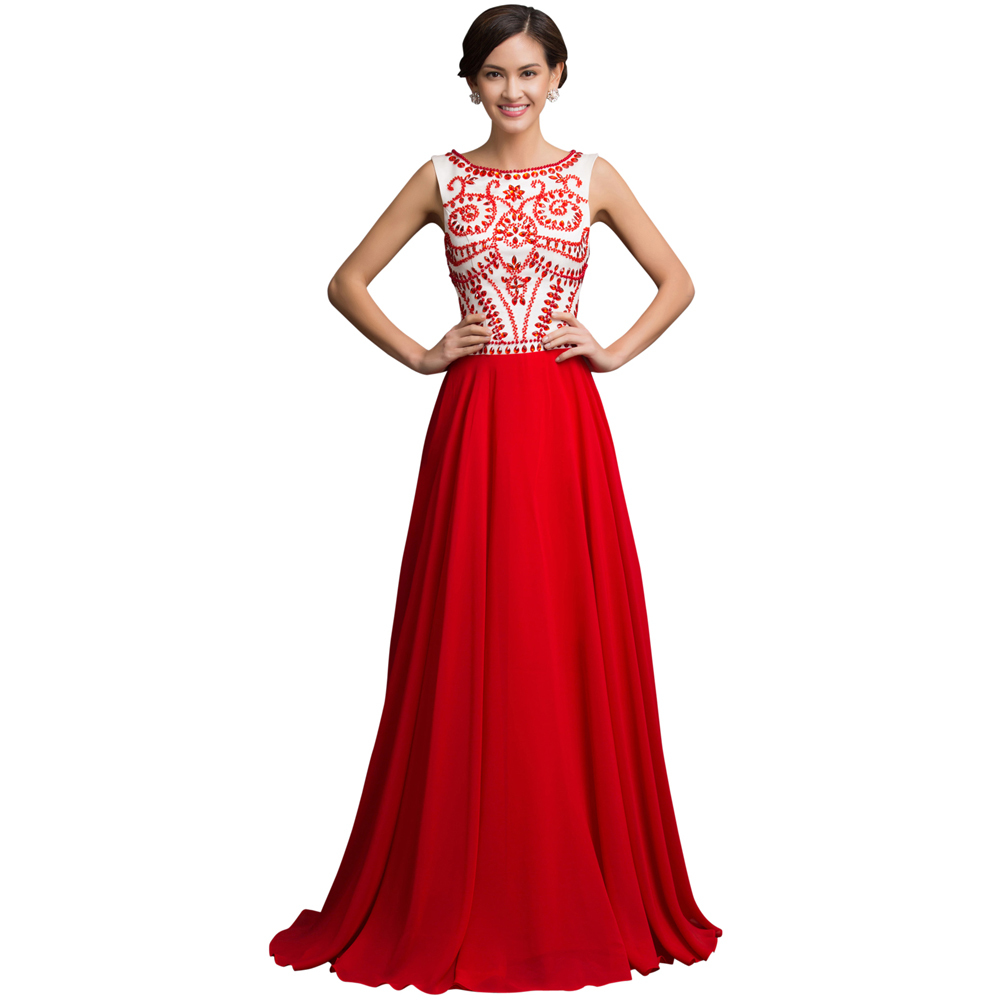 red evening dresses uk