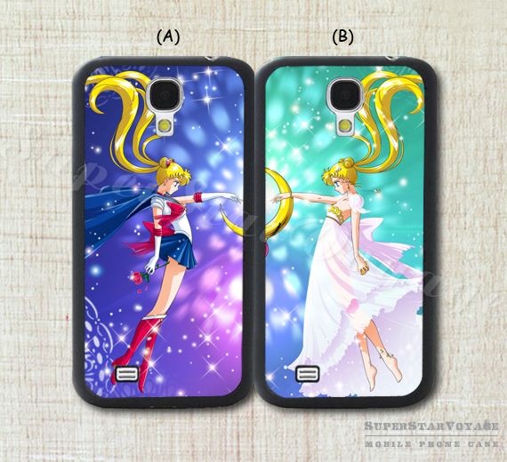 Samsung Galaxy S3 Cases For Couples Sailor Moon best frien...