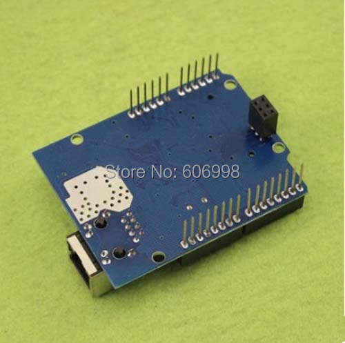 10pcs/lot Ethernet W5100 Network Expansion Board SD Card Expansion based on For Arduino, Free Shipping