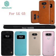 sFor LG G5 Case Nillkin Flip Cover PC PU TPU Case For LG G5(China (Mainland))