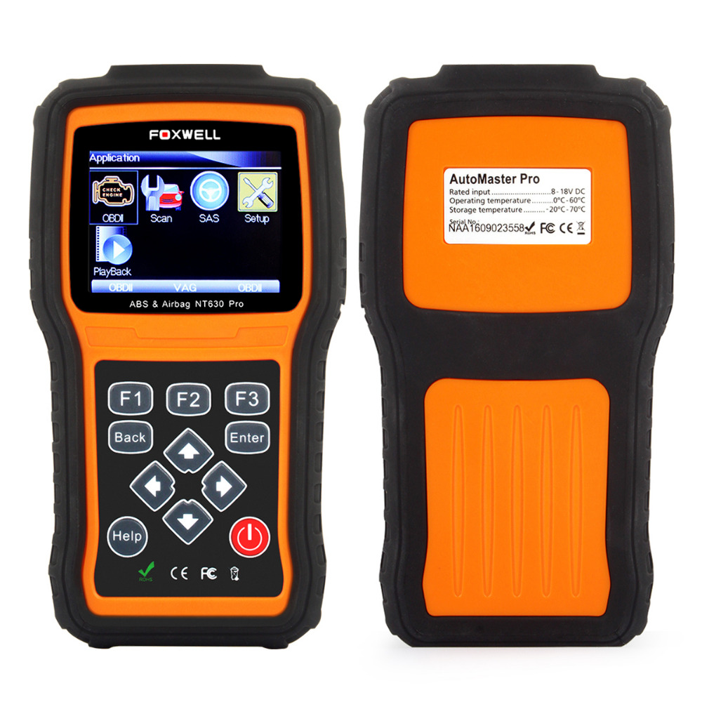 abs srs airbag crash data reset obdii reset tool for volkswagen mazda toyota ford vw nissan etc nt630 pro diagnostic scanner(China (Mainland))