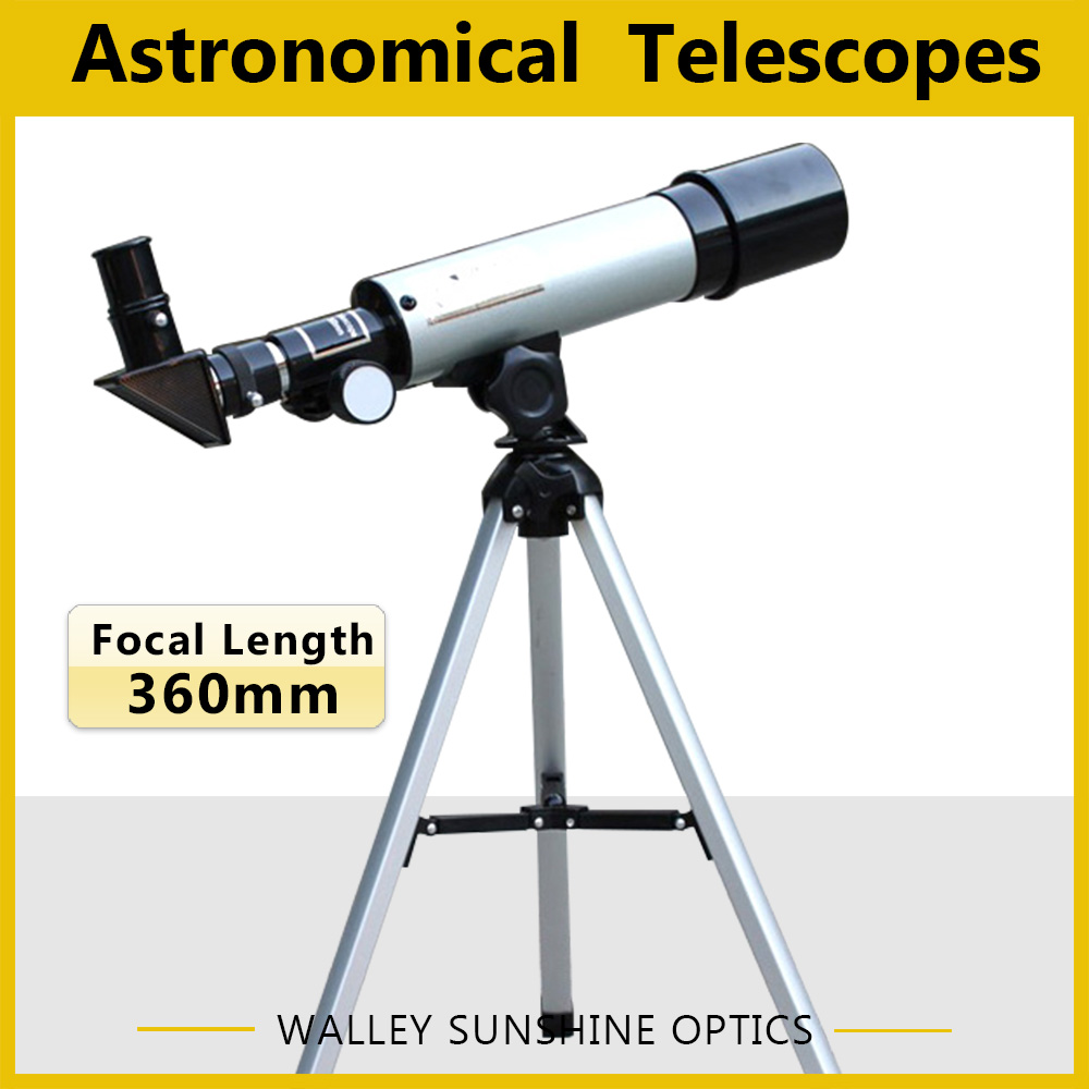 BRAND NEW 50/360 refracting astronomical telescopes popular science toys suit for student<br><br>Aliexpress