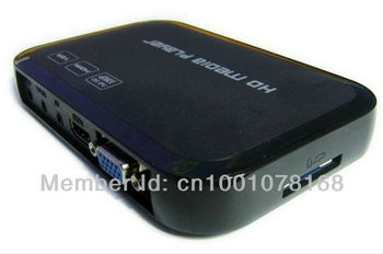 Promotion!!!1080P HDD Multi Media Player Support  HDMI VGA MKV H.264 SD HKPAM Freeshipping