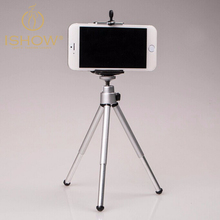 Load Capacity 300g Mini Mobile Phone Camera Tripod Stand Clip Bracket Holder Mount Adapter For Self-Timer Phone Holder Tripode