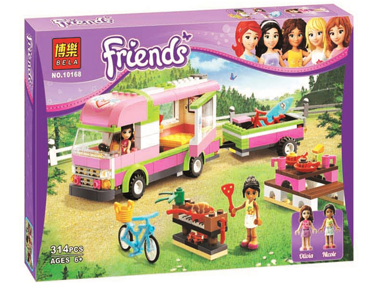 Compatible with Lego Block Toys Friends BELA 10168 RV Plastic Building Blocks 314pcs Girls Adventure Brick Toys Holiday Presents<br><br>Aliexpress