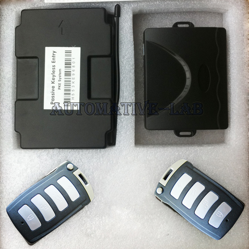 RFID car PKE car alarm anti-theft passive car alarm system + window closer standard shipping(China (Mainland))