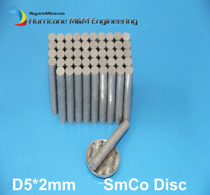 120 pcs SmCo Magnet Disc Dia 5 x 2mm cylinder grade YXG24H, 350degree C operating temp Permanent Magnets Rare Earth Magnets<br><br>Aliexpress