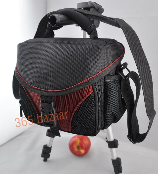 red video Camera bag DV case fit camera and one short lens for Samsung Fuji olympus Nikon Sony Canon JVC(China (Mainland))
