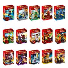2015 New Decool 0071-0085 Ninja Figures Building Blocks Sets Minifigurs Bricks Model Toys Lego Compatible(China (Mainland))