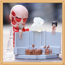 Attack on Titan Nendoroid 360 Colossus Exhibition PVC Action Figure Model Toy decoration Attack on Titan Figure
