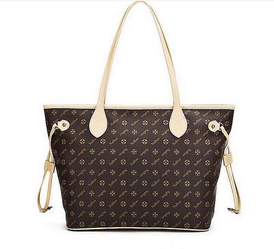 bags handbags women famous brands M40995 Monogram Neverfull MM GM handbags Canvas women oxidated shoulder bags tote bag(China (Mainland))