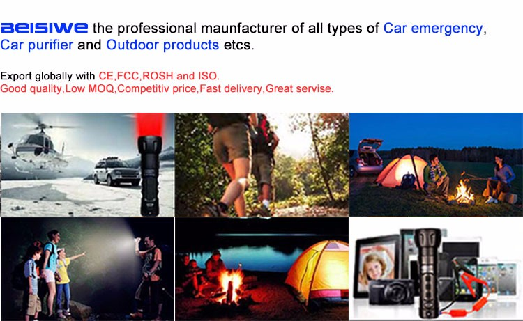 New Auto power bank 10000mAh car jump starter 12v emergency portable car battery charger booster Multi-function car starter