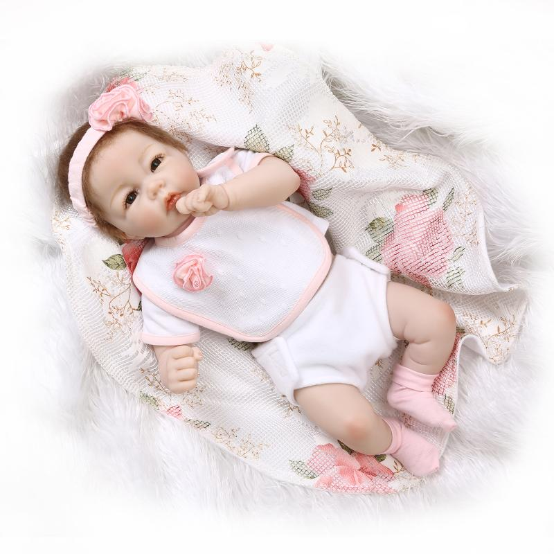 The Latest 52cm Silicone Girl Doll And Boy Doll In Cute Clothes Play House Kids Toy Doll Reborn From Chinese Doll Manufacturers(China (Mainland))