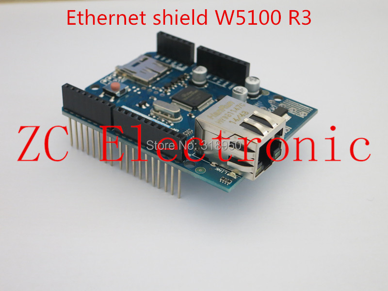 Free shipping ! New Ethernet W5100 R3 SHIELD FOR arduino Ethernet shield uno R3 MEGA 2560(China (Mainland))