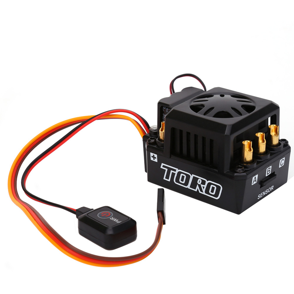 Automotive Truck Buggy 1/eight RC Brushless Motor ESC Sensored TS150A 150A Excessive High quality