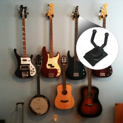 Bass Guitar wall mount ajustable hanger houlder stander rack hook bracket(China (Mainland))