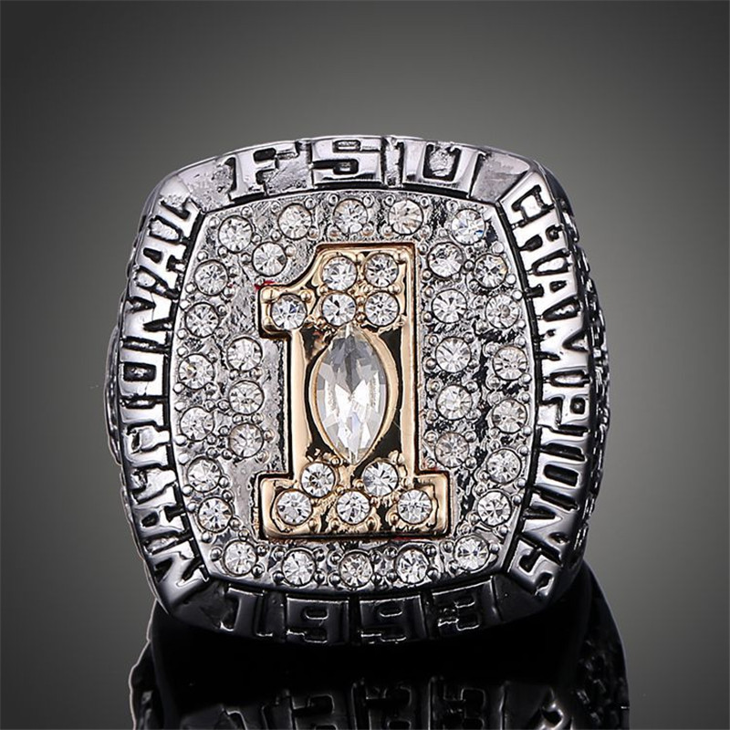 NCAA National Champ 1993 Florida State University Replica Super Bowl Rings for Men J02095(China (Mainland))