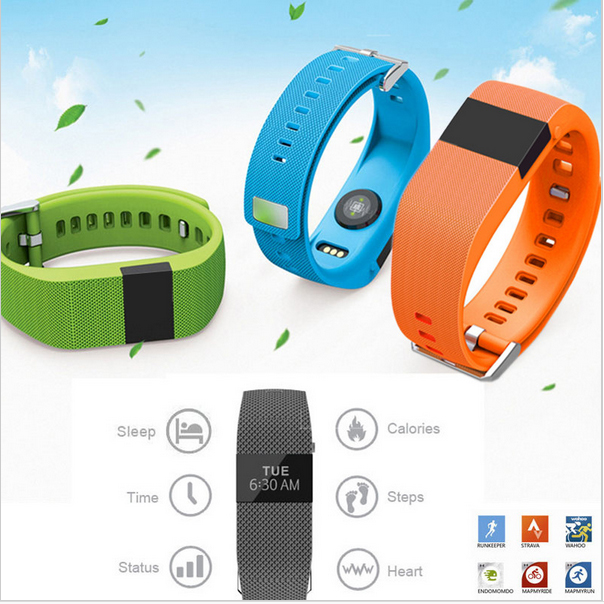 2016 New JW86 Bluetooth 4.0 Wireless Heart Rate Smart Bracelet Sport Fitness Wristband Similar FOR Fitbit Charge Hr Track Pulse<br><br>Aliexpress