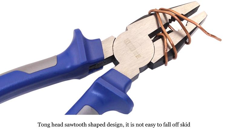 Купить Artisan пассатижи плоскогубцы промышленного класса Немецкий тип 6 и 8 дюйм(ов) диагональные плоскогубцы многофункциональный скамейке с костюм