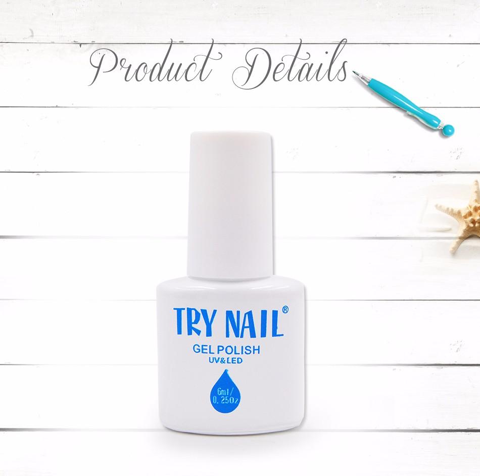 TRY NAIL Free Shipping Three Steps Orange Red Fashion Design Art Tools Gel Nail Polish Soak Off UV Gel Glue Varnish(DA125~DA151)