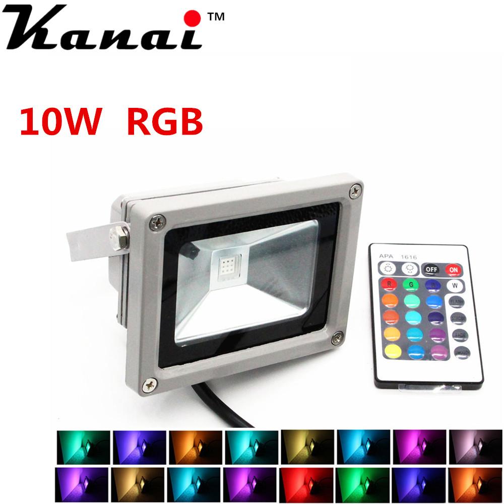 ten Watte Flood Light RGB sixteen-Colors LED Bulb<br><br>Aliexpress