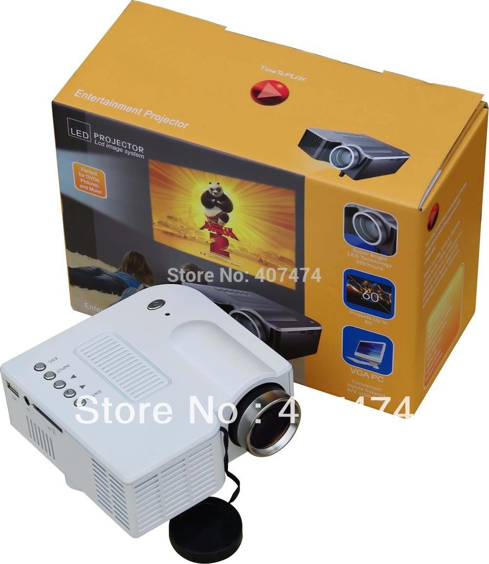Cheapest wholesale mini av led digital projector vga av for Mini usb projector for mobile