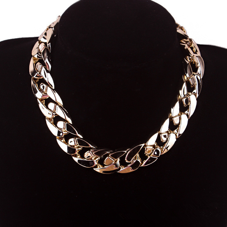 2015 New Design High Quality Colorful Vintage Jewelry Woman's Statement Chokers Necklace Necklaces & Pendants Christmas Gift(China (Mainland))