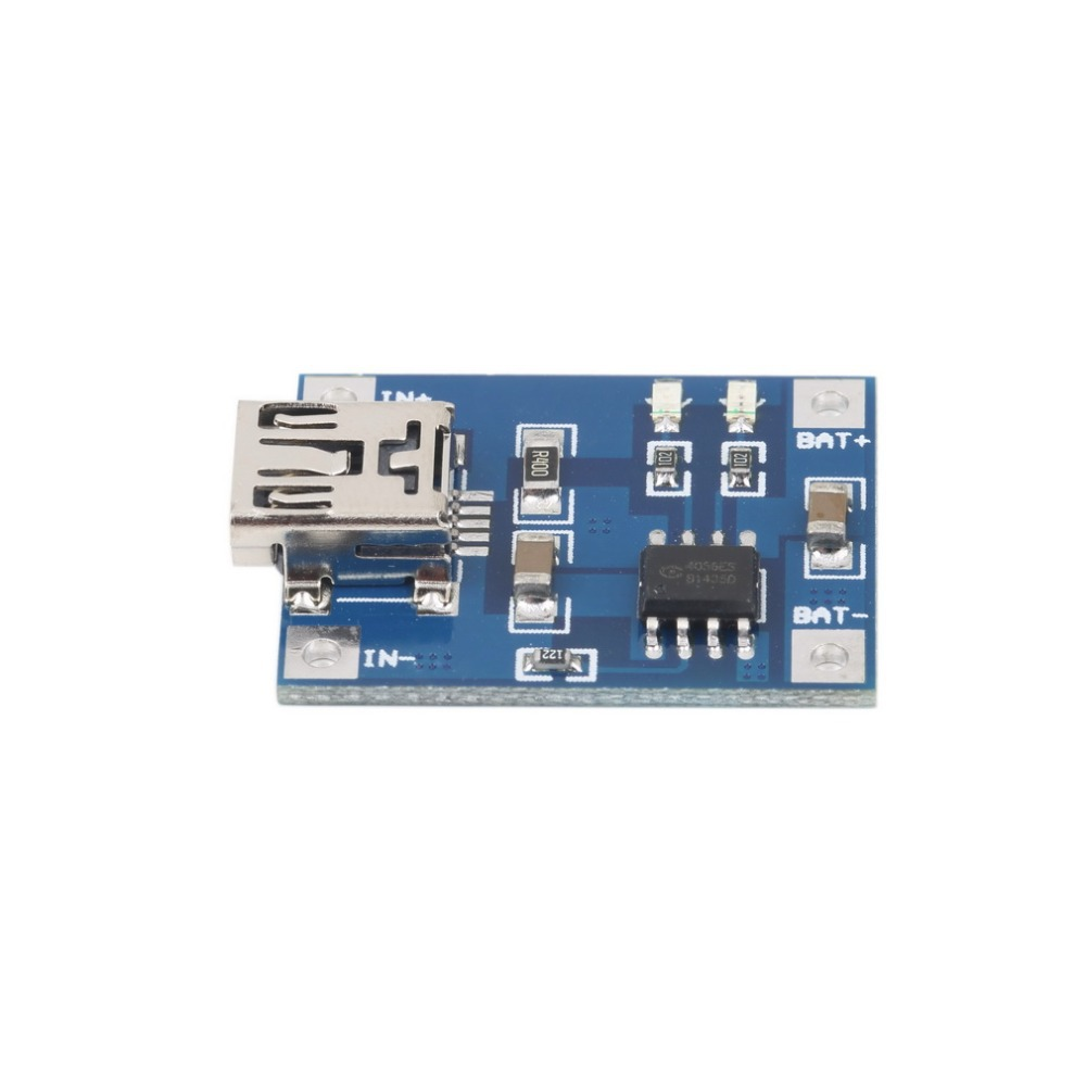 1PCS Lithium Battery Charging Board 5V Mini USB 1A TP4056 Charger Module DIY Newest!(China (Mainland))