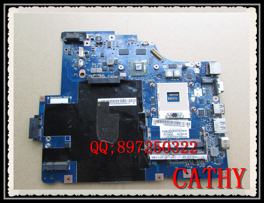 Original For Lenovo Thinkpad Laptop Mainboard G560 System Board NIWE2 LA-5752P Motherboard HM55 100% fully tested(China (Mainland))