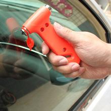Mini car safety hammer life-saving escape hammer window emperorship keychain car Window broken emergency glass breaker(China (Mainland))
