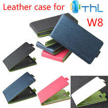 THL W8 W8S Case New style Genuine Filp Leather Cover case stock - Will Electronic Technology Co., Ltd. store